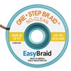 "DESOLDERING BRAID, ONE STEP, .050"" X 10', ANTISTATIC, 25/PACK"