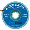 "DESOLDERING BRAID, QUICK BRAID, .100"" X 5', ANTISTATIC, 25/PACK"