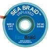 "DESOLDERING BRAID, SEA BRAID, .100"" X 5', ANTISTATIC, 25/PACK"